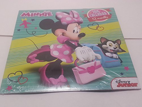 Disney Minnie Mouse 2015 Wall Calendar Bundle Coloring Book Crayons Scratch and Revel fun pack earser