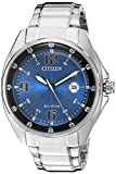 Citizen Men's 'Drive' Quartz Stainless Steel Casual Watch, Color:Silver-Toned (Model: AW1510-54L)