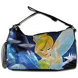 Disney Tinkerbell Black Nylon Hobo Handbag
