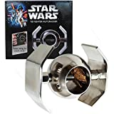 "Star Wars XL Metal Nut Cracker - TIE Fighter - Large 4"" x 6"" Metal Frame with Twisting Wings"