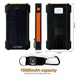 Cargador-Solar-Mvil-10000mAhLevin-Batera-Solar-Externa-PorttilSolar-Panel-Charger-Power-Bank-Mobile-Compatible-con-IphoneSmartphoneAndroidNaranja