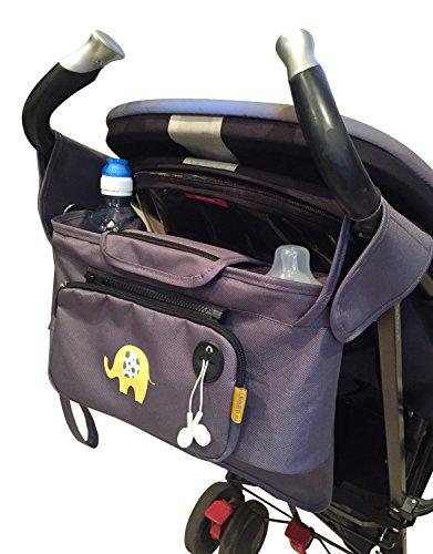 My Elephant passeggino/Organiser per passeggino, con borsa estraibile e una borsa