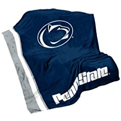 NCAA Penn State Nittany Lions Ultrasoft Blanket by Logo