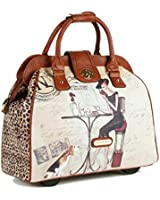 Nicole Lee Cheri Rolling Business Tote
