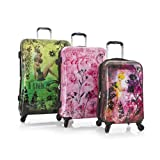 Heys Disney Fairies Fantasy 3 Piece Expandable Spinner Luggage Set