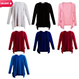 New Look Girls Cardigans Kids Plain Long Sleeve Boyfriend Cardigan with 2 Pockets Size 2-13 Years