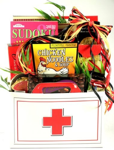 House Calls, Get Well Gift Basket (Small)
