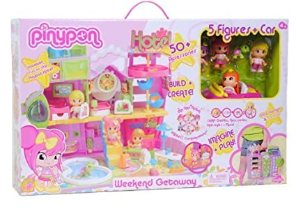 Pinypon - Hotel Playset by Famosa Toys TOY (English Manual)