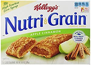 Kellogg's Nutri-Grain Nutri-Grain Cereal Bars - Apple Cinnamon - 1.3 oz - 8 ct