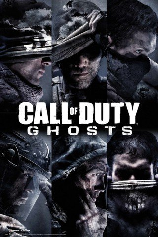 1 art1 - Poster di Call of Duty Ghosts, profili (91,4 x 61 cm)