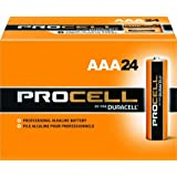 Duracell Procell (Size-AAA) Super Discount Size Package- 120 (AAA) Batteries