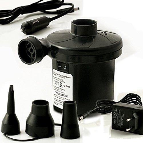 elektrische luftpumpe 12 volt pumpe bootspumpe 230 v. Black Bedroom Furniture Sets. Home Design Ideas