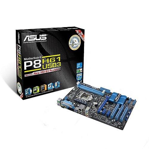 Asus P8H61/USB3 REV 3.0 Motherboard