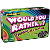 Zobmondo Would you Rather - Pocket Travel Version - Twisted, Sick and Wrong ~ Zobmondo!!