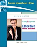 img - for Cutlip and Center's Effective Public Relations book / textbook / text book