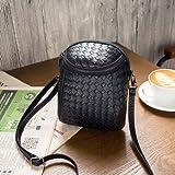 Generic Crossbody Bag For 5. 5-inch Smartphone- Black