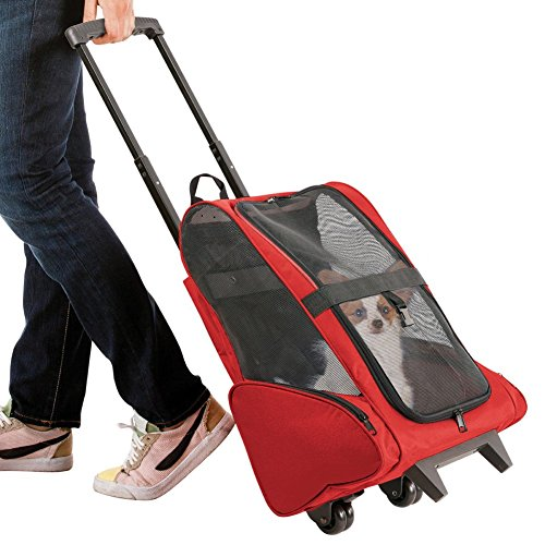 Ultimate Pet Stroller With Storage Pockets