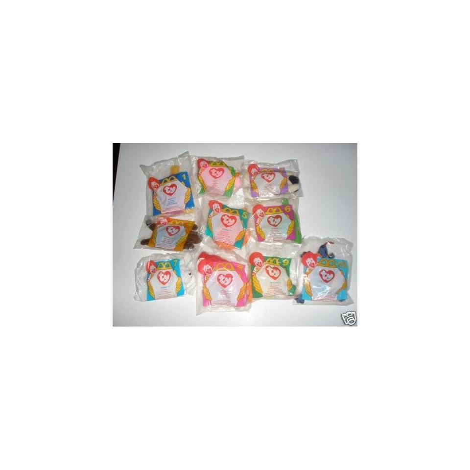 8c7ee9c29df TY McDonalds Teenie Beanies Complete Bagged Set of 18 (2000) on ...