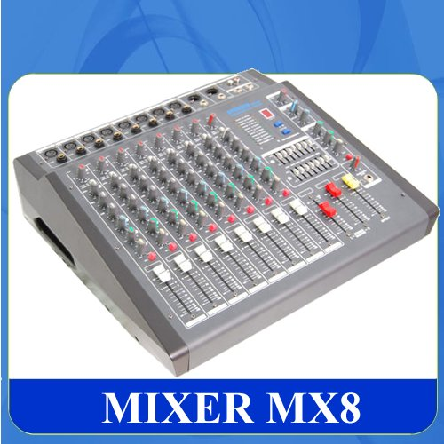 kompaktanlagen audio test mixer system professionell mx12 power 2x400w 12 kan le test. Black Bedroom Furniture Sets. Home Design Ideas