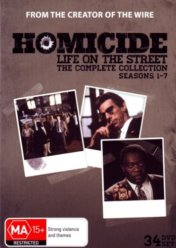 Homicide: Life on the Street - Complete Collection (Seasons 1-7) - 34-DVD Box Set