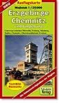 Ausflugskarte Chemnitz, Erzgebirge un...