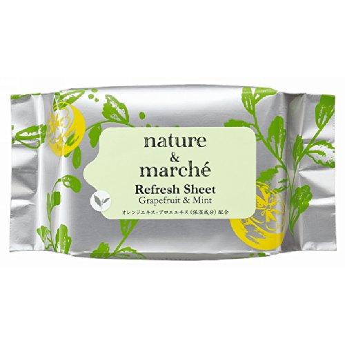 エイボン ネイチャー&マルシェ リフレッシュ シート グレープフルーツ&ミントの香り