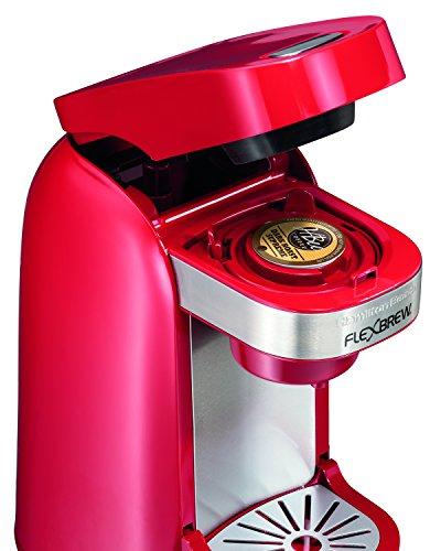 Hamilton Beach Single-Serve Coffee Maker, FlexBrew - Red (49960)