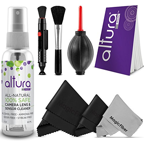 Altura Photo Professional Cleaning Kit for DSLR Cameras and Sensitive Electronics Bundle with Altura Photo 2oz All Natural Camera Lens & Sensor Cleaner (Camera Lenses Cleaner compare prices)