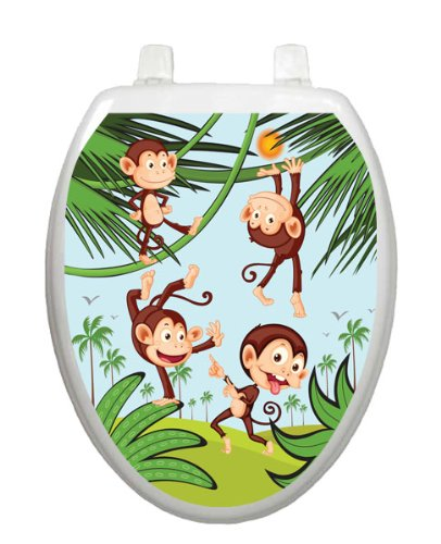 Monkey Business Toilet Tattoo