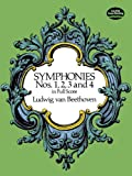 Symphonies Nos. 1, 2, 3 and 4 in Full Score (Dover Music Scores)