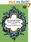Beethoven Symphonies Nos 1 2 3 And 4...