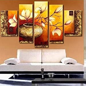 Santin Art-Landscape Paintings on Canvas Wall Art Decorations Home Decor Stretched and Framed Ready to Hang