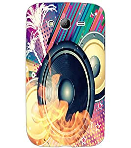 SAMSUNG GALAXY GRAND NEONEO SPEAKER Back Cover by PRINTSWAG
