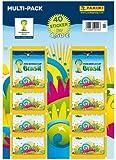 Panini 6504503 - FIFA World Cup Brasil 2014, Sammelsticker Multipack mit 8 Tüten und 5 Sticker