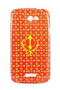 Purple Eyes Exclusive Printed TPU Silicon Back case HTC One X Khalsa