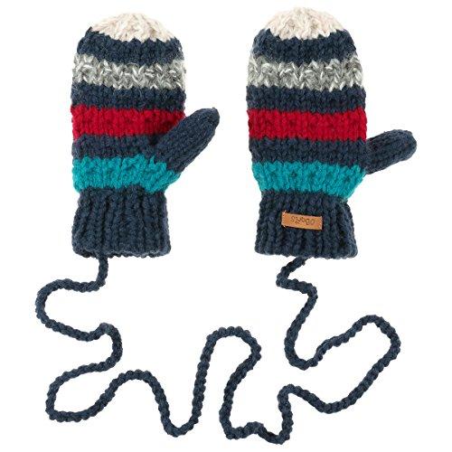 Polly Mitts Guanti a Manopola Barts guanti a maglia guanti bambini Taglia unica - blu