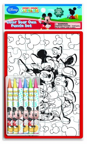 Mickey Color Your Own Puzzle Sets (4450A) - 1
