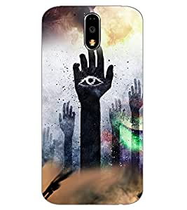 Axes Premium Designer Back Cover for Motorola Moto G4 Play (-d1176