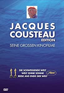 Jacques-Yves Cousteau - Seine großen Kinofilme [3 DVDs]