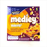McVitie's - Medley - Hobnobs Biscuit Chunks with Raisins & Milk Chocolate - 180g (Case of 6)