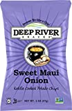 Deep River Snacks Kettle Chips, Sweet Maui Onion, 2-Ounce Bags (Pack of 24)