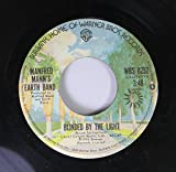 Manfred Mann's Earth Band 45 RPM Blinded By The Light / Starbird No 2
