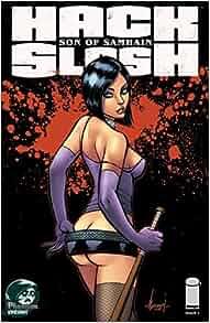 HACK SLASH SON OF SAMHAIN #1 (Phantom Variant): Michael
