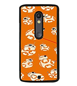 iFasho Animated Pattern colrful tribal design Back Case Cover for Moto X Play