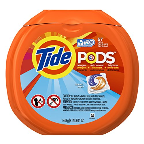 Tide PODS Ocean Mist HE Turbo Laundry Detergent Pacs 57-load Tub (Clothes Washer Detergent compare prices)