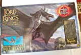 The Lord Of The Rings - The Return Of The Kings Deluxe Posable Fell Beast Witn Ringwraith Rider - Fell Beast when Assembled as a Wingspan of 32
