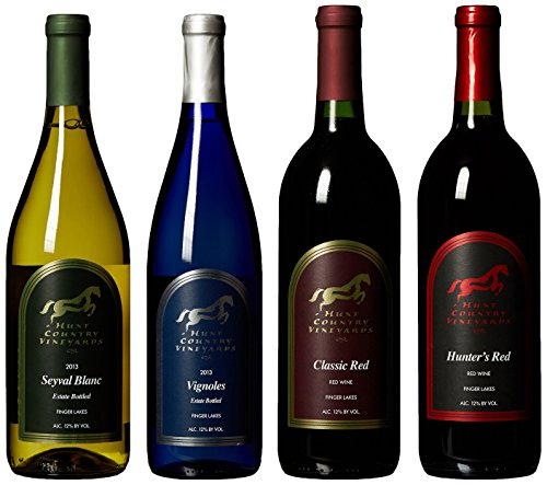 "Hunt Country ""Regional Favorites"" Reds & Whites Mixed Pack, 4 X 750 Ml"