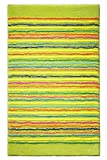 Esprit Badteppich Cool Stripes – lime – 60 x 100 cm