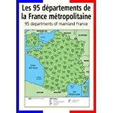 A3 homemade* French poster teaching aid / classroom resources - The 95 departments of France (supplied folded to A4, NOT laminated)by 123 Web Art
