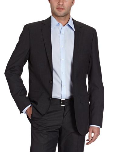 Esprit Collection Men's 092Eo2G040 Suit Jacket Black (001 Black) 56